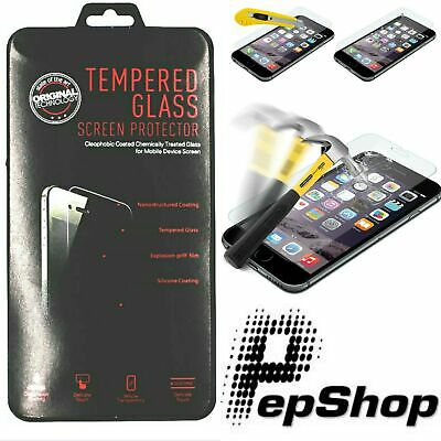 Pellicola Vetro Temperato per Apple iPhone 11/XS/XR/X/8/7/6/5/4/Pro/Plus/Max