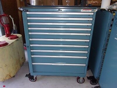 Lista Tool Chest Cabinet, 10 drawer