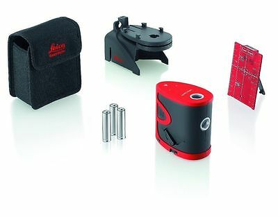 LEICA P3 LINO Self-Leveling 3-Point Dot Level Laser vertical   FREE SHIPPING