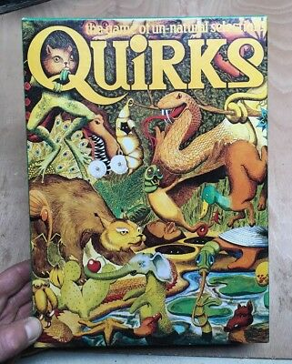 Quirks:Game Of Natural Selection Games Workshop 1980 100% Complete Boxed Eon
