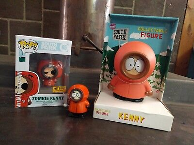 South Park Collectibles FUNKO POP ZOMBIE KENNY HOT TOPIC PVC LARGE KENNY FIGURE