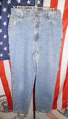 Womens VTG 80s 90s GITANO Relaxed High Waist Jeans 14 AVE zip fly grunge 32x30