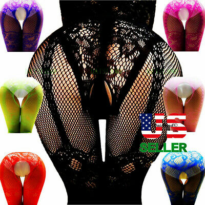 Bodystocking Sleepwear Women Bodysuit Lace Lingerie Babydoll Valentines Day Gift