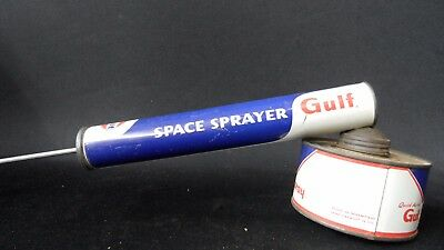 Original Vintage Gulf Space Sprayer  Original Condition
