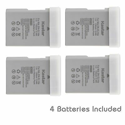 Kastar EN-EL14a Battery for Nikon D5600 D5500 D5300 D5200 D3300 D3200 D3100