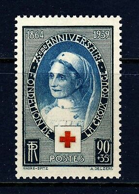 FRANCE . 1939 Red Cross (B89) . Mint Never Hinged
