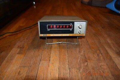 vintage working b&k precision dynascan 1801 frequency counter