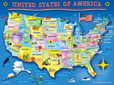 Usa Map Interactive Puzzle - Interactive us map puzzle