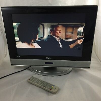 haier l19c12w lcd tv fernseher 48cm 19zoll hdmi dvd player. Black Bedroom Furniture Sets. Home Design Ideas
