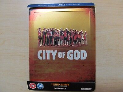 City Of God. Blu-ray steelbook. Excellent.