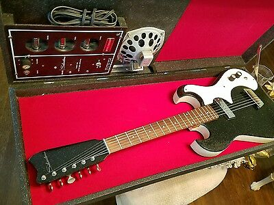 Silvertone Vintage Guitar amp in case model used 1963 silvertone 1449 guitar & amp in case set \u2022 $999 00 picclick