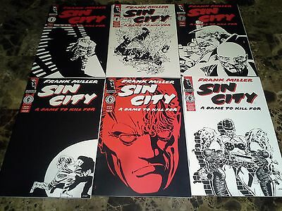 Frank Miller Sin City Dame To Kill For 1-6 1 2 3 4 5 6 NM/M 9.8 Complete Set