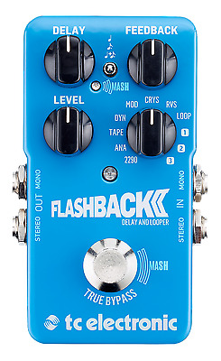 New TC Electronic Flashback 2 Delay Guitar Effects Pedal!