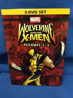 Wolverine and the X-Men: Vol.1-3 (DVD,3-Disc Set) -1733-132-017