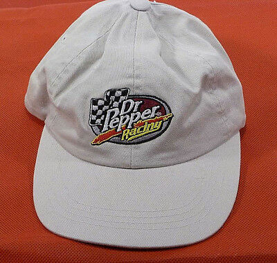 Dr Pepper Racing Hat - Dr Pepper Thirst Crew - One Size Fits All!- NOS
