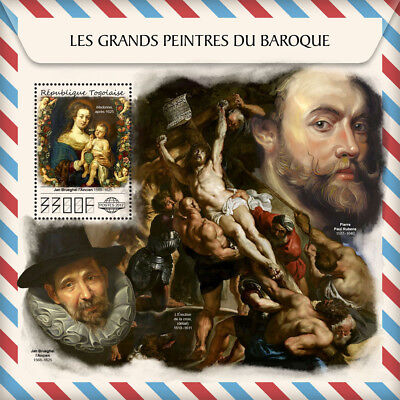 Z08 IMPERF TG17510b Togo 2017 Great painters of Baroque MNH ** Postfrisch