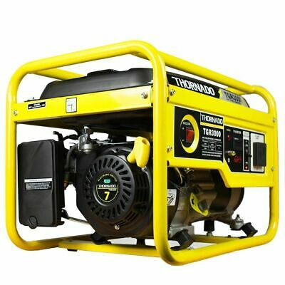 Portable Petrol Generator 3000W Max / 2500W Rated Power 7HP THORNADO