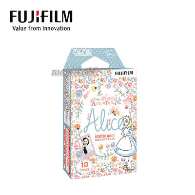 10 Disney Alice Fujifilm Instax Mini Instant Cartoon Film For Mini 7s 25 50s 90