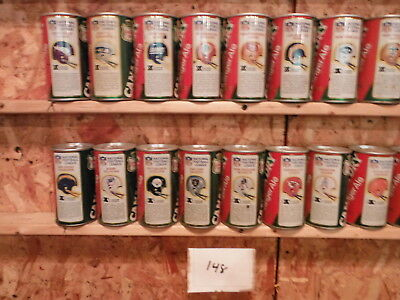 Canada Dry Soda Can 28 Nfl Team Can Collection-Lot #148-