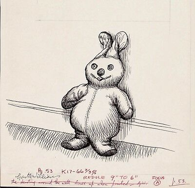 Garth Williams~Stunning Final Published Pen And Ink~The Gingerbread Rabbit, Pg53