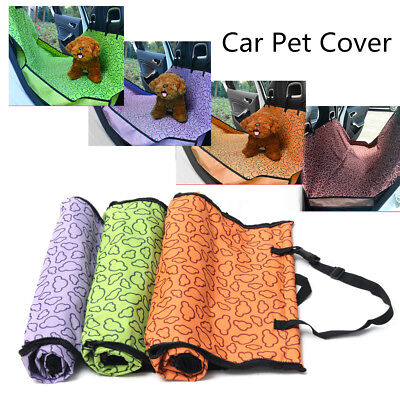Waterproof Car Rear Back Seat Cover Pet Dog Cat Protector Hammock Mat 134x133cm