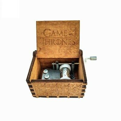 Game of Thrones - New Handmade Engraved Wooden Music Boxs crafts Theme Artisanal