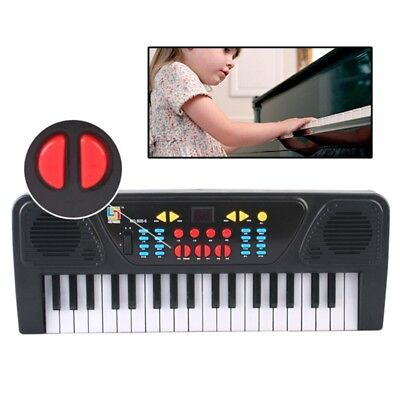 37 Keys Music Electronic Keyboard Electric Piano Organ With Microphone Kids Toys