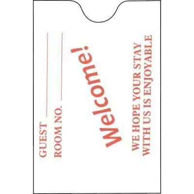 Welcome! Keycard Envelope, Box Of 500