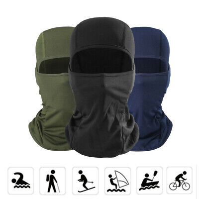Windproof Motorbike Motorcycle Thermal Balaclava Ski Neck Face Mask Under Helmet