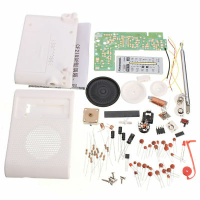 New DIY Kit Parts CF210SP AM/FM Stereo Radio Electronic Assemble Set For Learner