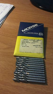Morse Screw Machine Lenght# 21 Drill Bit 12Ea Per Package