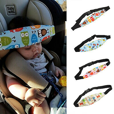 Child Kids Safety Car Seat Sleep Aid Head Support Belt Eliminates Pressure UK