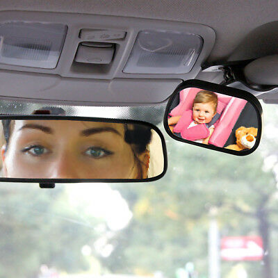 Forward Facing Kids Baby Seat & Child Car Interior Rear View Safety Mirror -New