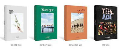 KPOP SEVENTEEN 2nd TEEN,AGE Album [ White , Green , Orange or RS Ver. ] Music CD