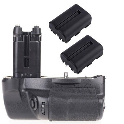 Vertical Battery Grip Pack Fit For Sony SLT-A77V/SLT-A77 A99ii +2x NP-FM500H