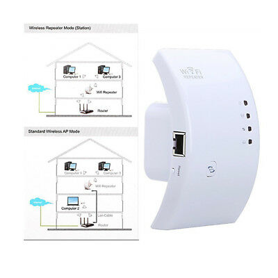 Wifi Booster Repeater Extender Range 300Mbps Wireless AP Router 802.11n/g/b