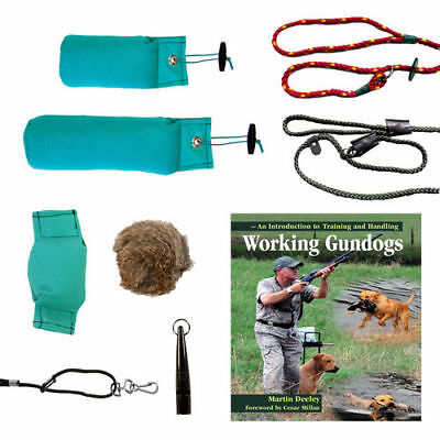 Sporting Saint Dog/Puppy Training Packs-Gundog Starter Pack - Whistle, Lead