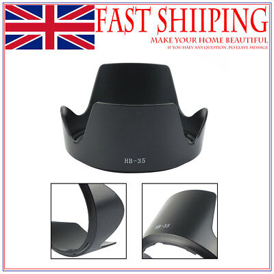 Camera Solar Cap Lens Hood HB-35 For Nikon AF-S VR 18-200mm F/3.5-5.6 UK SELLER
