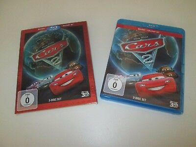 Cars 2 - 3-Disc-Set / Blu-Ray + Blu-Ray 3D
