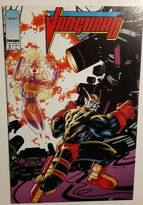Vanguard * US Comic * # 2 * image * 1993 First Printing *