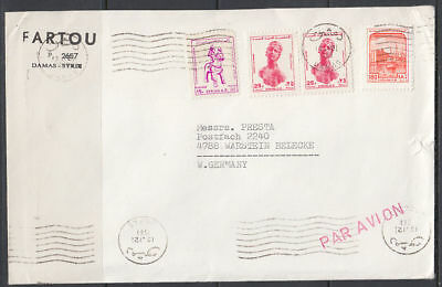1983 Syrien Syria Cover to Germany [ck053]