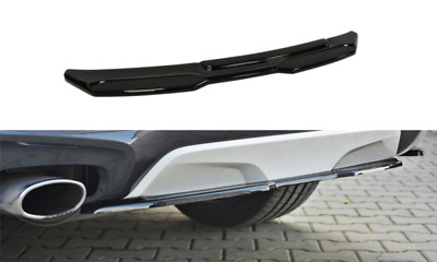 Body Kit Lama  Centrale Sotto Paraurti Posteriore Bmw X4 M-Pack