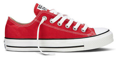 2b4378f153bd Converse Chucks Turnscuhe Sneakers Canvas Ox Low Rot Red M9696 Neu All Star