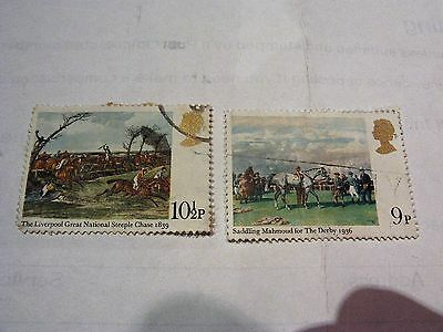 Gb 1979 Commemorative Horse Racing Stamps