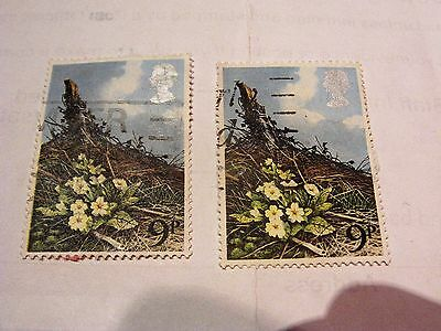 Gb 1979 Commemorative Spring Wild Flowers Stamps