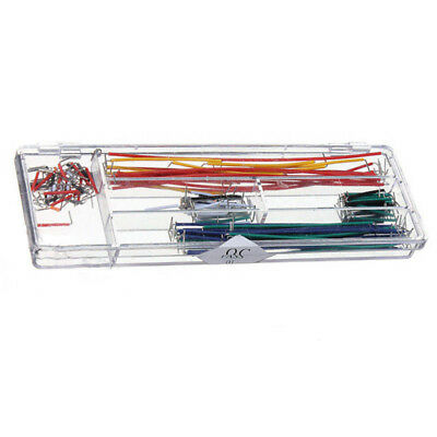 140pcs U Shape Solderless Breadboard Jumper Cable Wire Kit for Arduino Shie O1F3