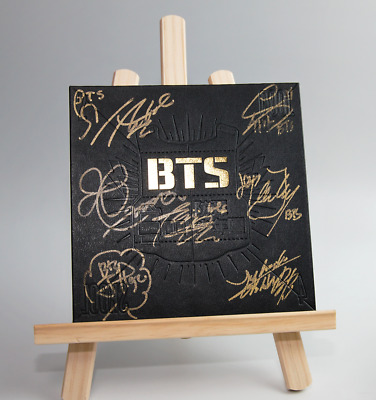 BTS Signed 2 Cool 4 Skool Signature 7Members Debut Album CD Limited Edition KPOP