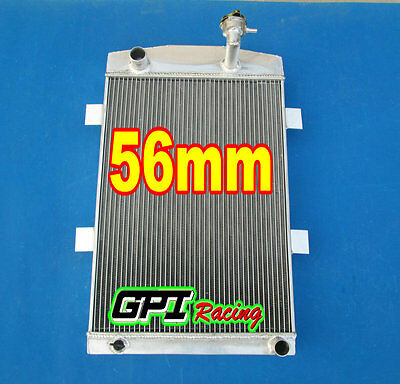 56Mm Custom Aluminum Alloy Radiator For Chevy M/t 1935-1936 1936