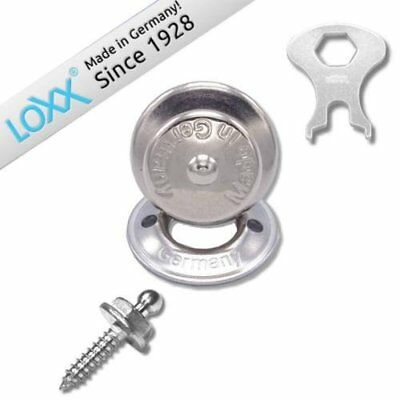 Set of 10 LOXX Strap lock System Boat Canvas Cover Fastener Snap