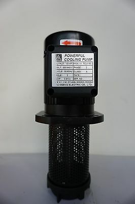 "1/8 HP Filtered Coolant Pump 8150, 220V/440V, 3PH, 150mm (6""), 1/2"" NPT"